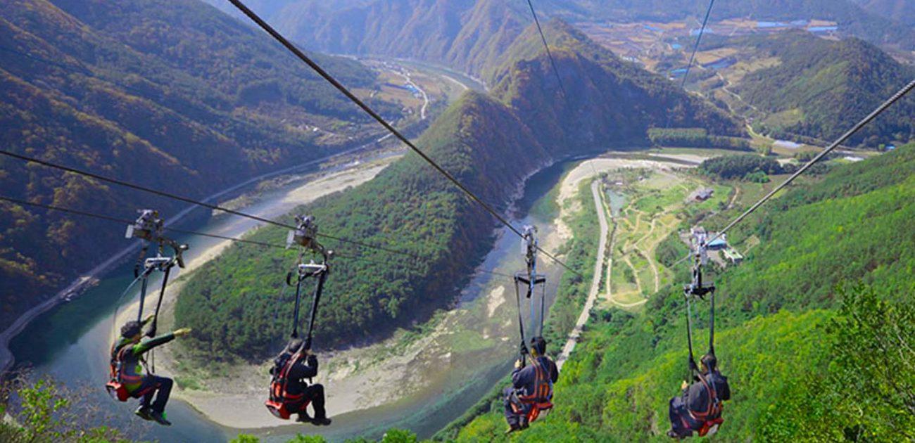 ZipLine, μια περιπέτεια στην Ποκάρα του Νεπάλ.